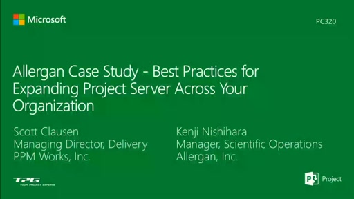Allegan Case Study - Best Practices for Expanding Project Server across Your Organization
