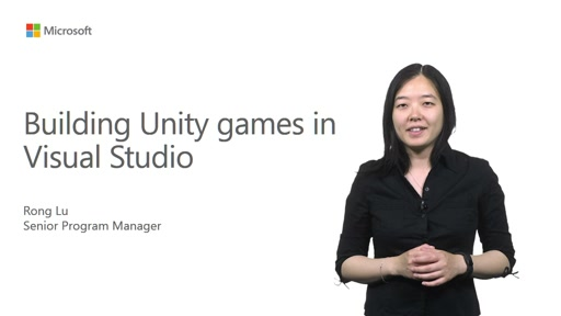 Building Unity Games in Visual Studio
