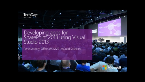 Developing apps for SharePoint 2013 using Visual Studio 2013 (e)