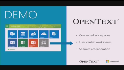 Enriching Business Processes with Unstructured Data by OpenText Solutions and Microsoft