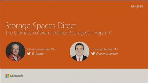 Discover Storage Spaces Direct, the ultimate software-defined storage for Hyper-V