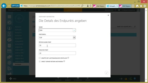 02 | Traditionell Joomla in Azure – Virtuellen Maschinen mit Joomla - Video 5