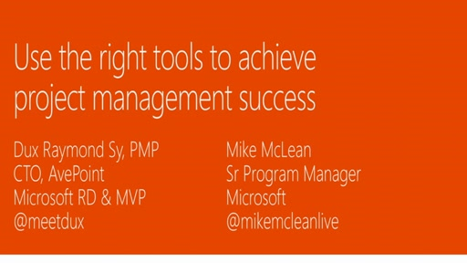 Use the right tools to achieve project management success