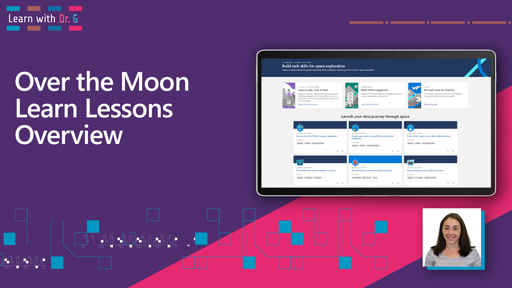 Over the Moon Learn Lessons Overview