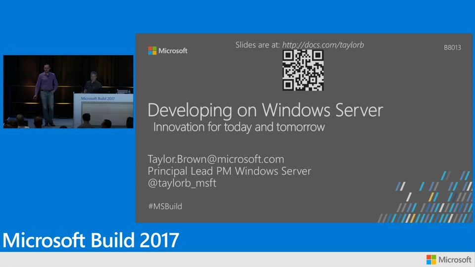 Developing on windows server innovation for today and for Innovation windows