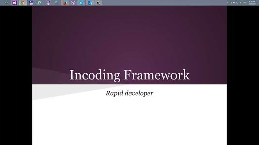 Rapid development Incoding Framework, Part 1 'IML'