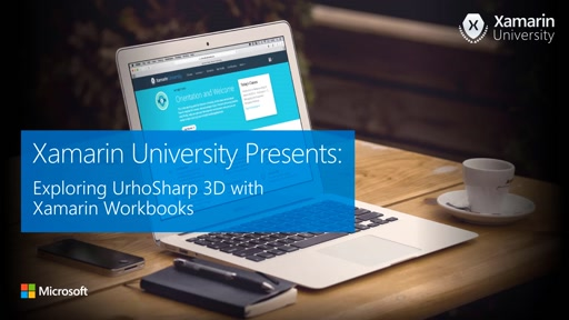 Exploring UrhoSharp 3D with Xamarin Workbooks