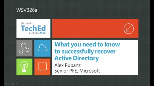 The Path to Continuous Availability with WS2012