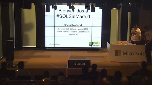 Keynote SQLSaturday Madrid