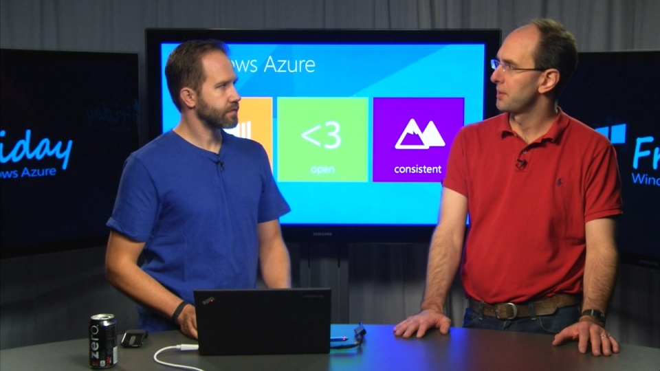 Scott Guthrie starts at Step 0 - What is the Azure Cloud OS?