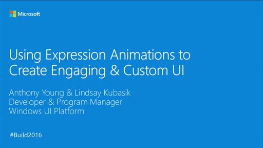 Using Expression Animations to Create Engaging & Custom UI
