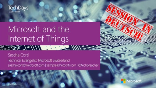 Creating real Internet of Things solutions today using Microsoft Technology