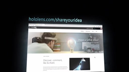 HoloLens -Share your ideas!