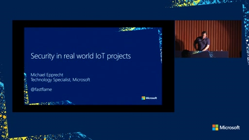 Security in real world IoT projects