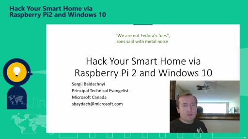 Hack Your Smart Home via Raspberry Pi 2 and Windows 10