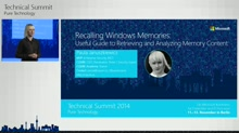 Recalling Windows Memories: Useful Guide to Retrieving and Analyzing Memory Content