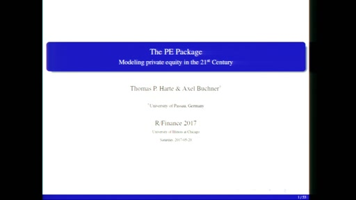 The PE package: Modeling private equity in the 21st century