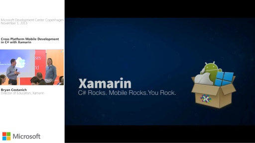 Cross Platform Mobile Development in C# with Xamarin by Bryan Costanich
