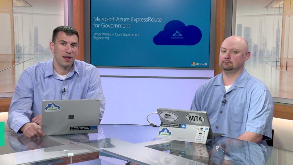 Azure Government ExpressRoute