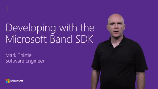 Developing Windows application with the Microsoft Band SDK