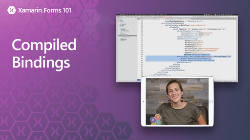Xamarin.Forms 101: Compiled Bindings