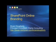 Session 8 - Part 1 - SharePoint Online Branding
