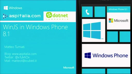 WinJS in Windows Phone 8.1