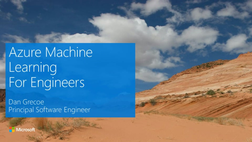 Azure Machine Learning for Software Engineers