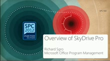 Overview of SkyDrive Pro