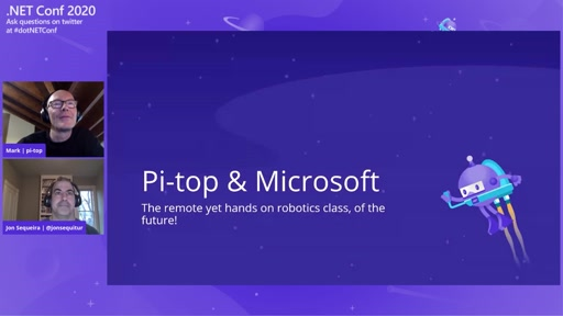 Remote Computer Science with pi-top, .NET and Microsoft Teams