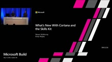 What's new with Cortana and the Skills Kit
