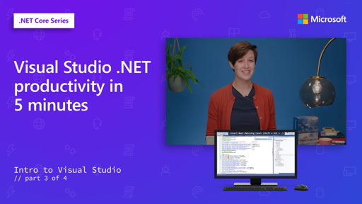 Visual Studio .NET productivity in 5 minutes [3 of 4]