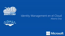 Identity Management en el Cloud
