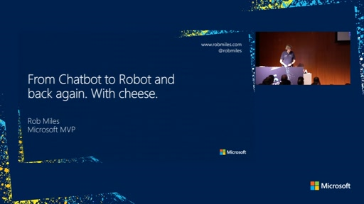 From Chatbot to Robot and back again. With cheese.