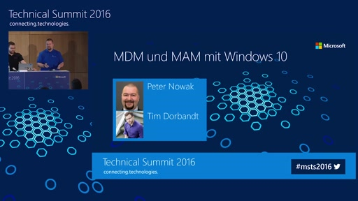 Mobile Device und Application Management mit Windows 10