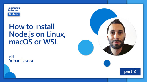 How to install Node.js on Linux, macOS or WSL [2 of 26]