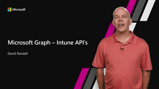 Intune APIs in Microsoft Graph