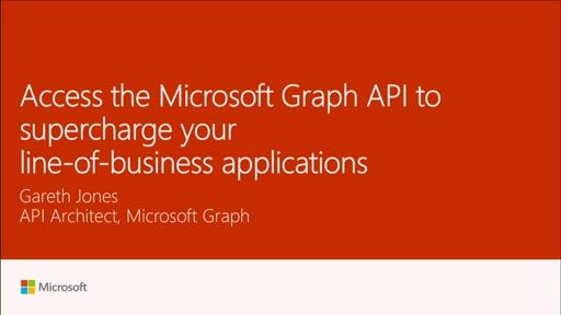Exploit the Microsoft Graph API to supercharge your Line of Business Applications