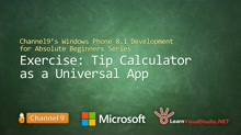 Part 10 - Exercise: Tip Calculator as a Universal App