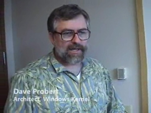 Windows, Part I - Dave Probert