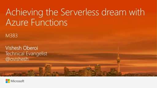 Achieving the Serverless dream with Azure Functions