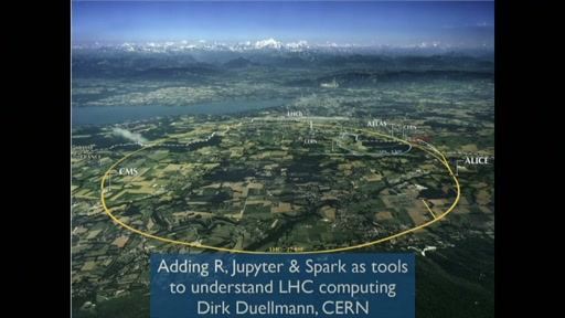 Adding R, Jupyter and Spark to the toolset for understanding the complex computing systems at CERN's Large Hadron Collider