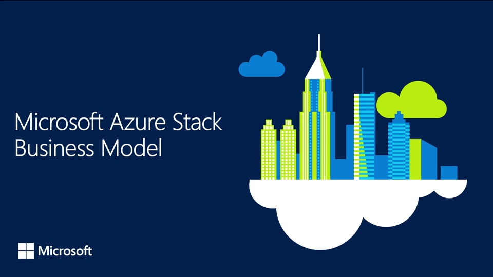 Azure Stack extends cloud economic model on-premises with pay-as-you-use pricing