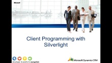 Silverlight & CRM - Part 1