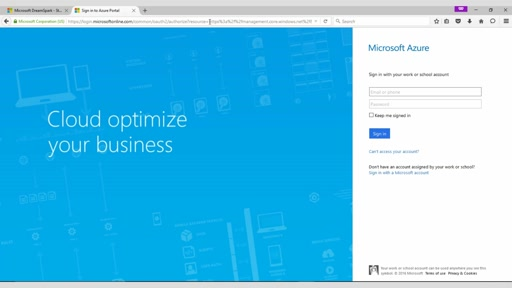 Create a Wordpress Site from Microsoft Azure
