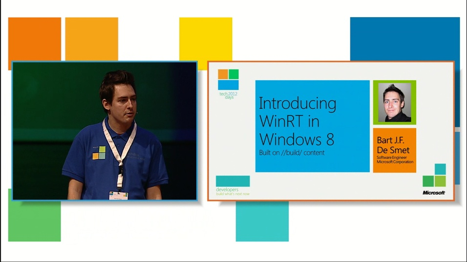 Introducing Windows Runtime in Windows 8