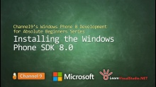 Part 2: Installing Windows Phone SDK 8.0