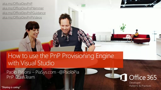 Getting Started with PnP Provisioning Engine