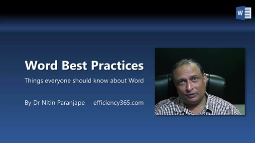 Word Best Practices