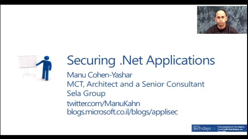 ARC380 - Securing ASP .Net Applications